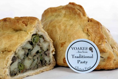 Gluten Free Traditional Pasty