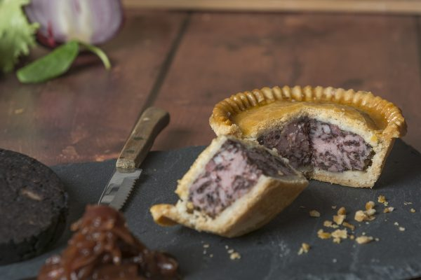 Individual Pork and Black Pudding Pie