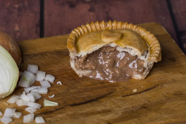 Individual Mince and Onion Pie