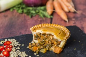Spiced Lentil and Vegetable Pie
